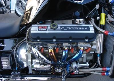 V8 prätkässä