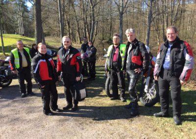 Matkalla Ruotsinpyhtään motoristimessuun 2016-05-05