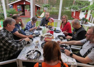 Grilli-illan lettuhetki 2016-06-28