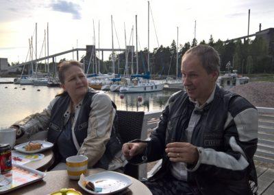 Kantvikin venesatamassa 15.6.2016