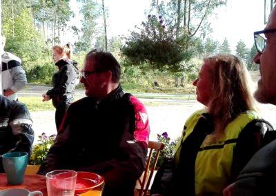 Ajelu kaffelle Vuolenkosken rantakioskille. 02-08-2016