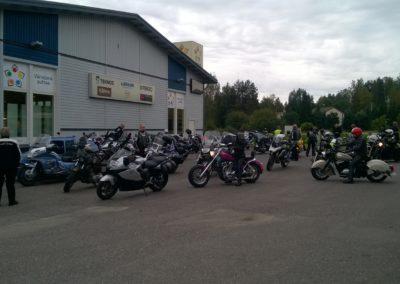 MKKV Orimattila, kokoontuminen lähtöpaikkaan 25-08-2016