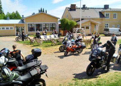 Motoristikirkko ja kevätkokous Hämeenkyrössä 2018-05-26