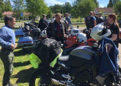 Motoristikirkko Lammilla 2018-06-10