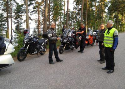 Yöajo, Pulkkilan harju 2018-06-15