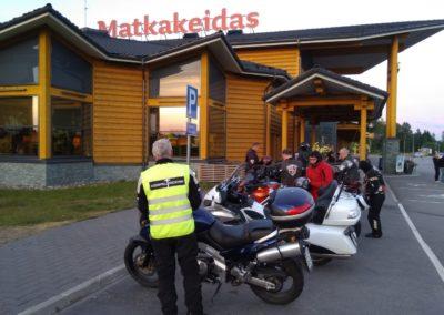 Yöajo, matkakeidas 2018-06-15