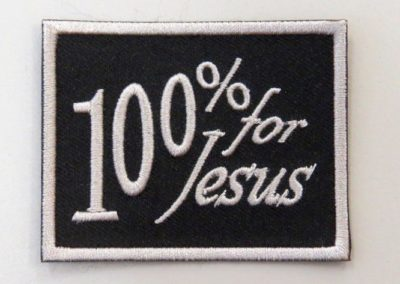 19. 100 % for Jesus, hopea kehys