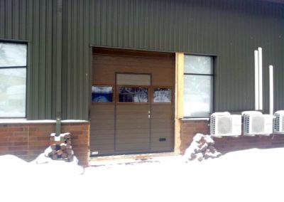 Tallin ulko-ovi on viimeistelyä vaille valmis 2019-02-08