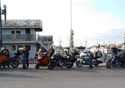 Vappuajelulla  Lahden satamassa 2019-04-30