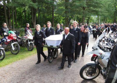 Tapani Norrbackan hautajaiset 2019-07-06